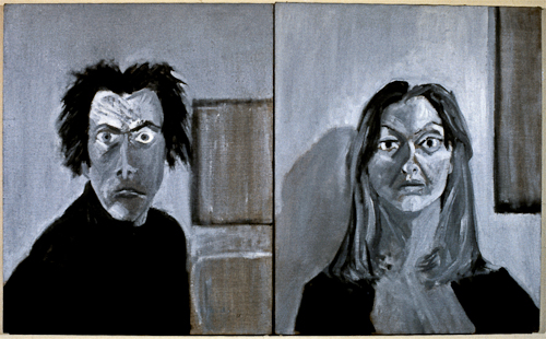 Untitled (ten year portrait project, 1/22/73 and 1/23/73)