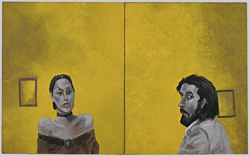 Untitled (ten year portrait project, 1/21/74 and 1/22/74)