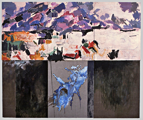 Untitled (MSP series, Cezanne 197_ - 1986, C-7-86)