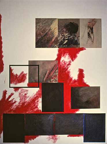 Untitled (Art History series, Explosion 1983-1984)